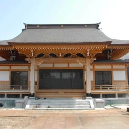 善行寺本堂再建工事