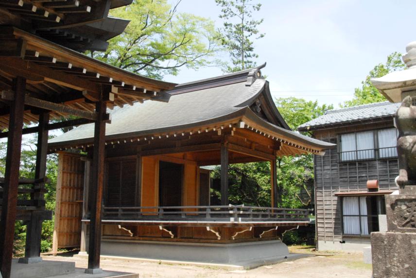 稲島・稲荷神社神楽殿新築工事