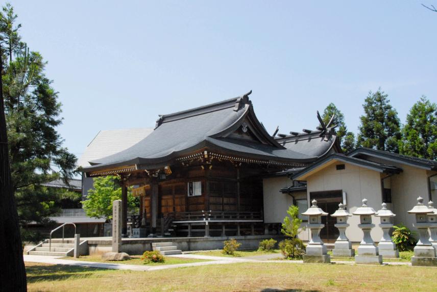 稲荷神社拝殿・神殿新築工事