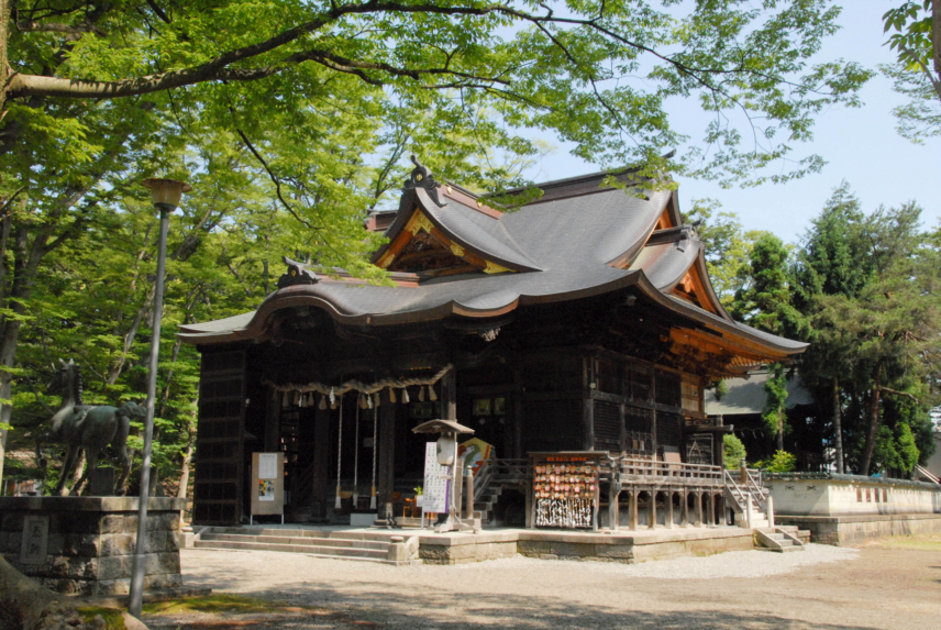 金峯神社拝殿修復工事