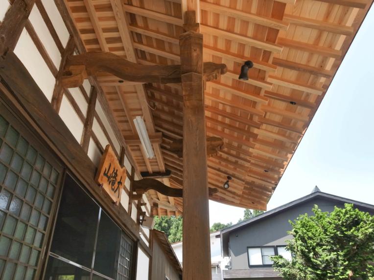 正林寺本堂屋根改修工事