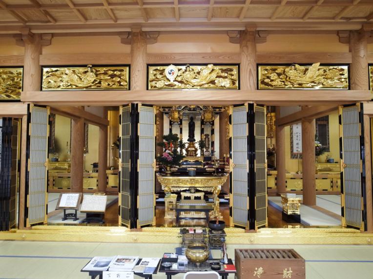 円周寺本堂再建工事