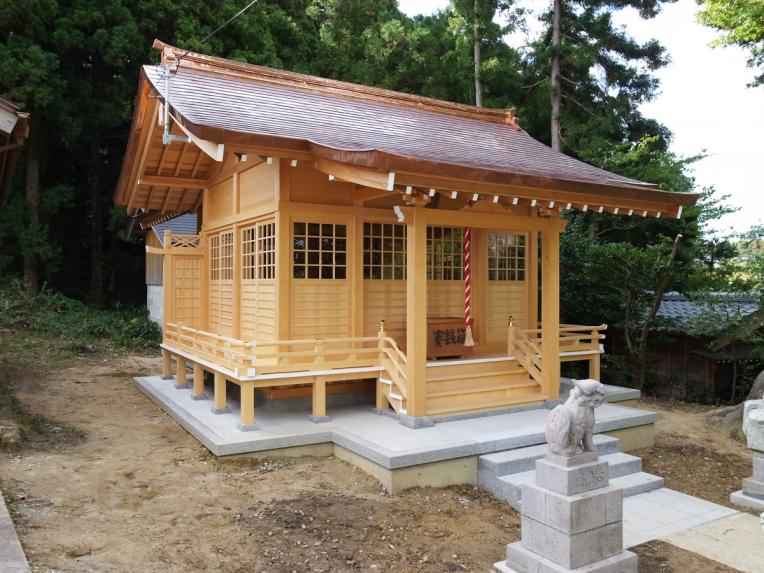 国常立神社改築工事
